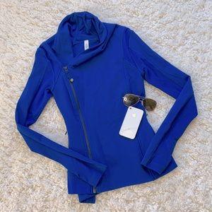 Lululemon Bhakti Yoga Jacket Baroque Blue- RARE‼️